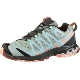 Salomon XA PRO 3D v8 Multifunktionsschuhe Damen aqua gray-urban chic-tropical peach