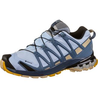 Salomon GTX® XA PRO 3D v8 Multifunktionsschuhe Damen kentucky blue-dark denim-pale khaki