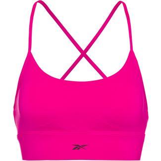 Reebok Sport-BH Damen proud pink