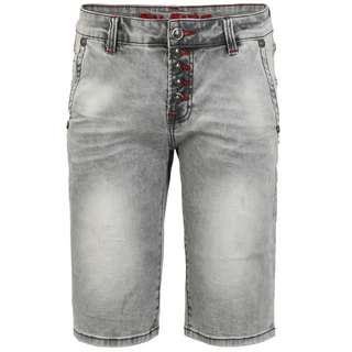 Blue Monkey Alex 4612 Jeansshorts Herren grey