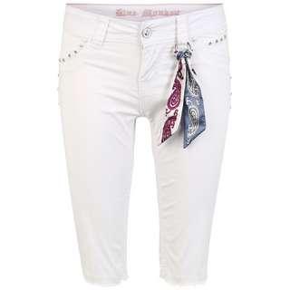 Blue Monkey Stacy 30199 Shorts Damen white