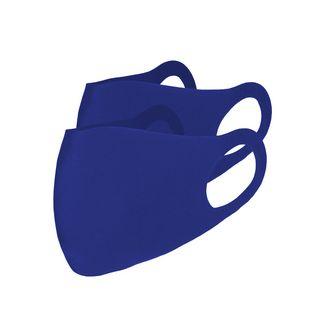 No Logo. Full Hope. 2 PACK Stoffmaske Gesichtsmaske blau
