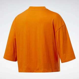 Reebok MYT Graphic T-Shirt Funktionsshirt Damen Orange