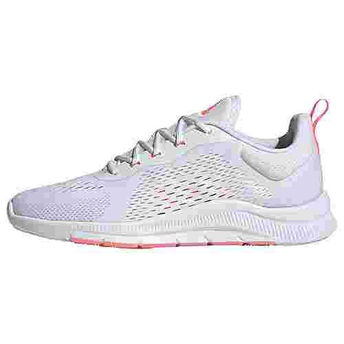 adidas Novamotion Trainingsschuh Fitnessschuhe Damen Cloud White / Signal Pink / Grey Two