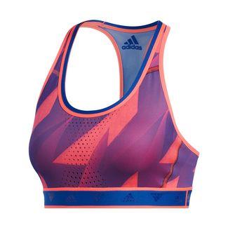 adidas Don't Rest Alphaskin Graphic Sport-BH Sport-BH Damen Signal Pink / Royal Blue