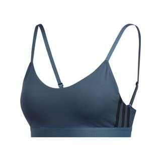 adidas All Me 3-Streifen Sport-BH BH Damen Legacy Blue / Black