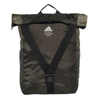 adidas Rucksack Classic Flap Top Shopper Rucksack Daypack Herren Legend Earth / Legacy Green / Black