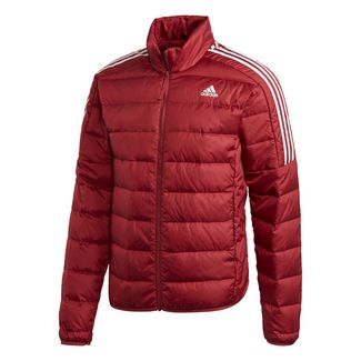 Adidas Essentials Daunenjacke Outdoorjacke Herren Rot im