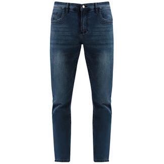 Finn Flare Straight Fit Jeans Herren dark denim