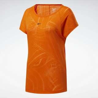 Reebok Burnout T-Shirt Funktionsshirt Damen Orange
