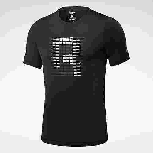 Reebok Run ACTIVCHILL Graphic T-Shirt T-Shirt Herren Schwarz