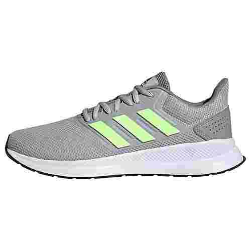 adidas Runfalcon Schuh Laufschuhe Herren Grey Two / Signal Green / Dove Grey