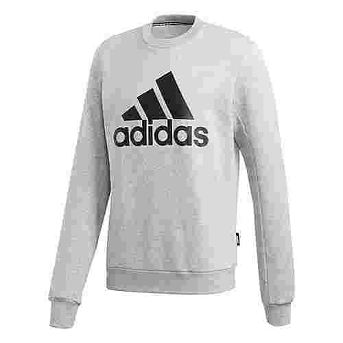 adidas Badge of Sport Fleece Sweatshirt Sweatshirt Herren Grau