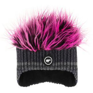 Eisbär Beanie grafitgrau/pink