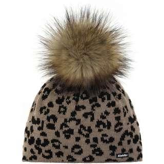 Eisbär Bommelmütze Damen beigemele-schwarz/real