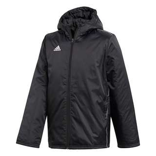 adidas Core 18 Stadium Jacke Funktionsjacke Kinder Black / White