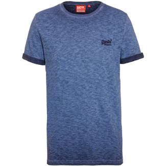 Superdry T-Shirt Herren rich navy