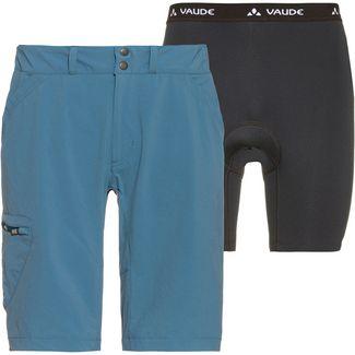 VAUDE Andega Shorts Fahrradhose Herren blue gray