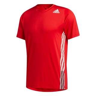 adidas FreeLift 3-Streifen T-Shirt T-Shirt Herren Rot