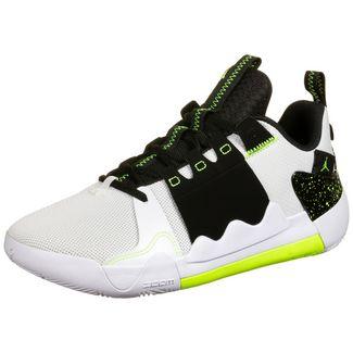Nike Jordan Zoom Zero Gravity Basketballschuhe Herren weiß / schwarz