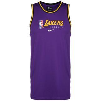 Nike NBA Los Angeles Lakers Dry DNA Fanshirt Herren lila / gelb