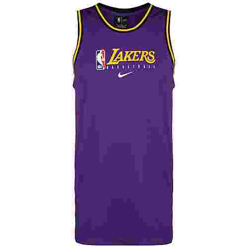 Nike NBA Los Angeles Lakers Dry DNA Fanshirt Herren lila / gelb