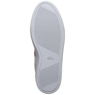 Lacoste Courtline Sneaker Damen weiß / rot