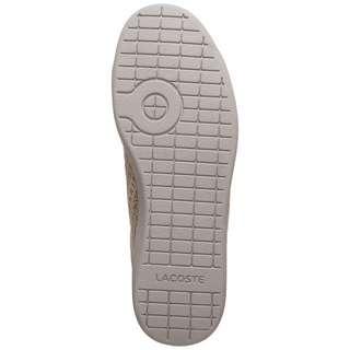 Lacoste Carnaby Evo 319 Sneaker Damen grau / gold
