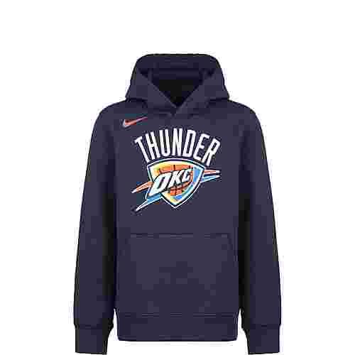 Nike NBA Oklahoma City Thunder Hoodie Kinder dunkelblau