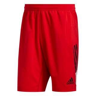 adidas 4KRFT 3-Streifen 9-Inch Shorts Funktionsshorts Herren Rot