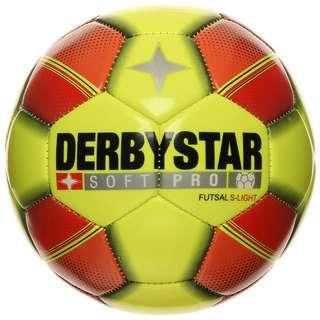Derbystar Soft Pro S-Light Futsal Fußball gelb / rot