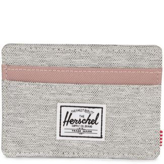 Herschel Charlie Geldbeutel grau / rosa