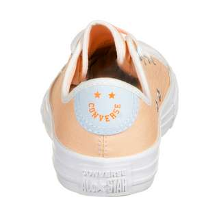 CONVERSE Chuck Taylor All Star OX Sneaker Kinder orange / blau