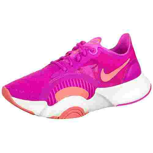 Nike SuperRep Go Fitnessschuhe Damen pink / beige