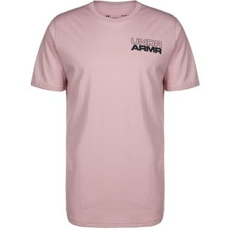 Under Armour Baseline Photoreal Grapic Basketball Shirt Herren altrosa / rosa