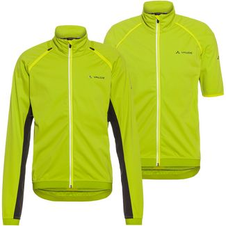 VAUDE Brocon ZO Softshell Jacket Fahrradjacke Herren chute green