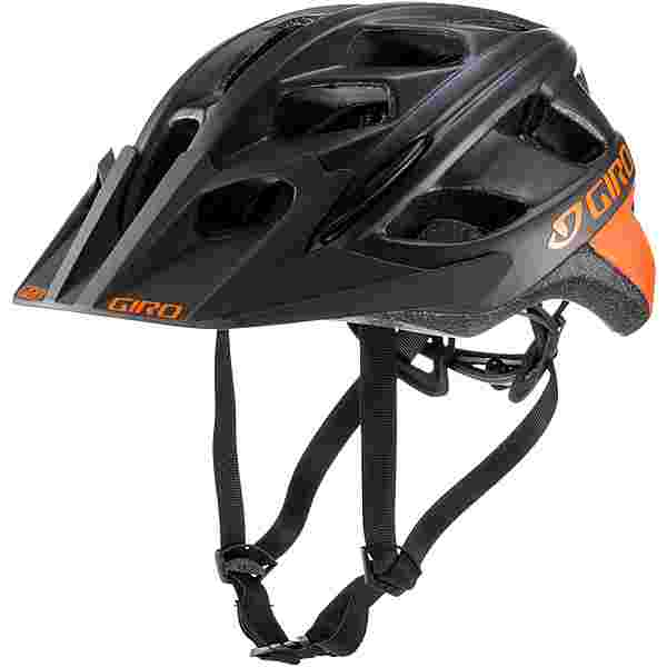 Giro Hex Fahrradhelm mat warm black orange