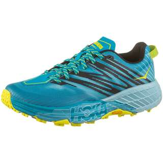Hoka One One SPEEDGOAT 4 Trailrunning Schuhe Damen capri breeze-angel blue