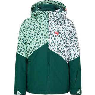 Ziener Alani Skijacke Kinder spruce green-white leo