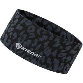 Ziener Stirnband Damen black leo