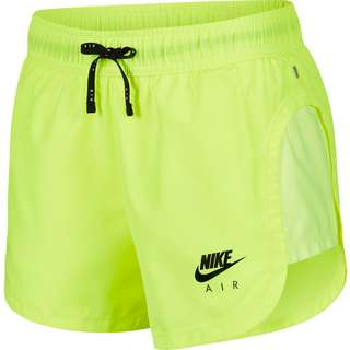 Nike Air Laufshorts Damen volt-black