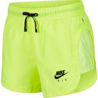 Nike Air Laufshorts Damen volt-black