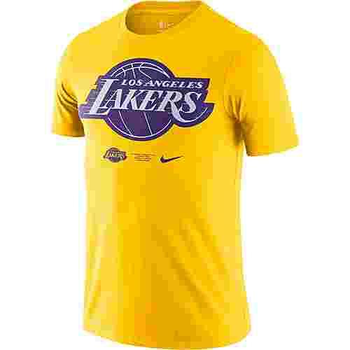 Nike Los Angeles Lakers T-Shirt Herren amarillo