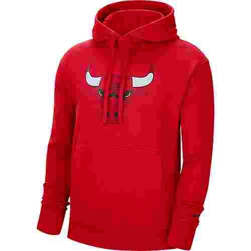 Nike Chicago Bulls Hoodie Herren university red-black