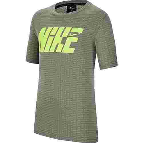 Nike T-Shirt Kinder cargo khaki-volt
