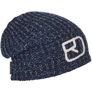 ORTOVOX Merino MELANGE Beanie night blue blend