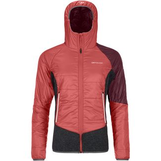 ORTOVOX SWISSWOOL PIZ ZUPO Outdoorjacke Damen blush