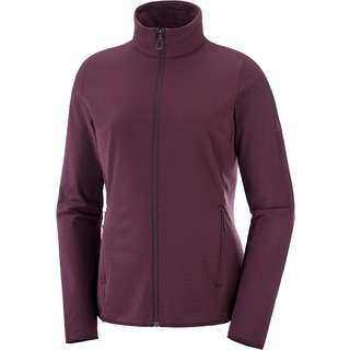 Salomon Outrack Funktionsjacke Damen wine tasting