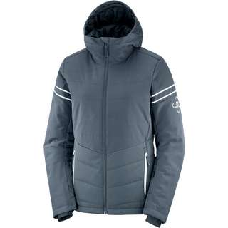 Salomon Edge Skijacke Damen ebony/wht
