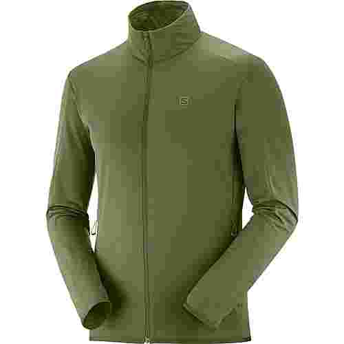 Salomon Funktionsjacke Herren olive night